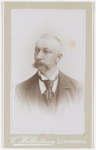 Portret van Gajus Gratama (1844-1917)