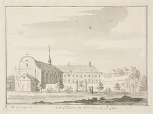 Kerk en klooster van Sint Franciscus in Zwillbrock in Duitsland