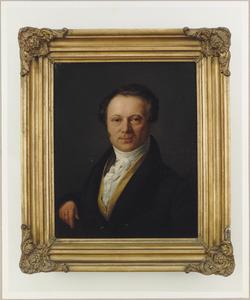 Portret van een man, mogelijk Johannes Campagne (1782-1867)