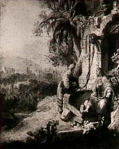 Christus en de Samaritaanse vrouw aan de bron