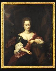 Portret van Maria van den Brande (1665-1701)