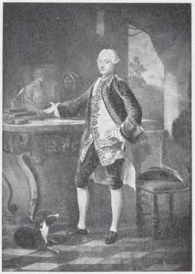 Portret van een man, mogelijk Willem van Haren (1710-1768)
