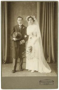 Portret van het echtpaar Bongenaar