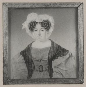 Portret van Anna Elisabeth Becius (1790-1835)