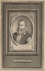 Portret van Petrus Scriverius (1576-1660)