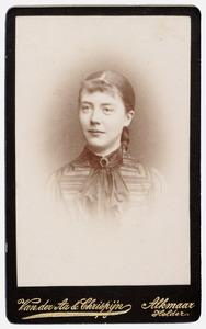 Portret van Elisabeth Reenen (1871-1946)
