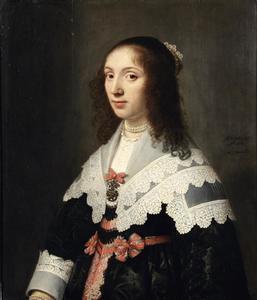 Portret van Agatha de Vlaming van Oudtshoorn (1619-1675)