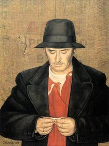 Zelfportret van Jopie Huisman (1922-2000)