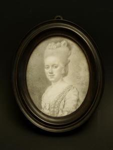 Portret van Maria Backer (1758-1801)