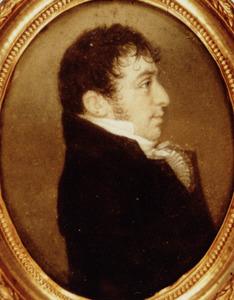 Portret van mogelijk Pieter Gerard (Gerard Pieter) Molengraaff (1776-1843)