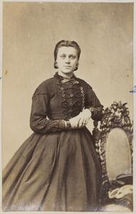 Portret van een vrouw uit familie Teves
