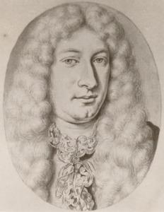 Portret van François le Gillon (1651-1689)