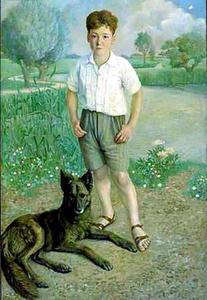 Portret van Levie Cohen (1921-1944)