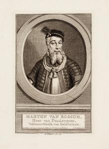 Portret van een man genaamd Maarten van Rossum (1478-1555)