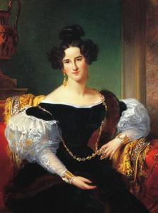 Portret van Olga Emilie Sillem (1814-1899)