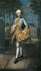 Portret van Gerard Cornelis van Riebeeck (1722-1759)