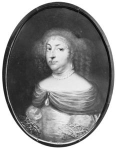Portret van Christiane (1626-1670), dochter van Koning Christiaan IV van Denemarken, echtgenote van Hannibal Sehested