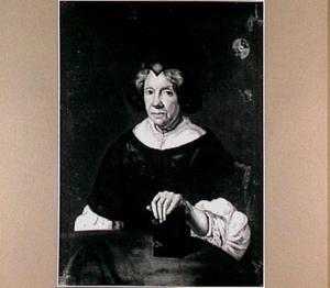 Portret van Elisabeth Agnes Rump, echtgenote van de Leidse hoogleraar Anthonius Hulsius (1615-1685)