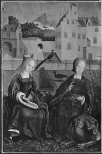 De HH. Cecilia en Margaretha