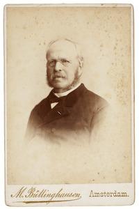 Portret van Jacobus Willem Maurits van de Poll (1828-1894)