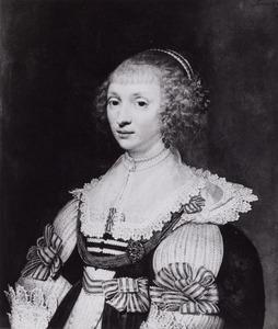 Portret van Anna van Lockhorst