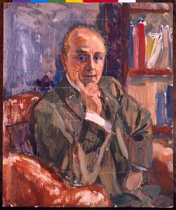 Voorstudie mansportret