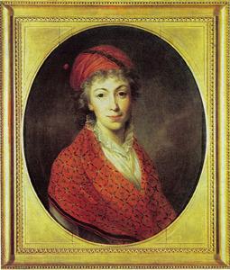 Portret van Izabela Czartoryska (1746-1835)