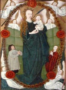 De Madonna van de rozenkrans