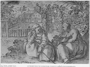 Vertumnus en Pomona (Metamorfosen 14:623-697 en 765-771)
