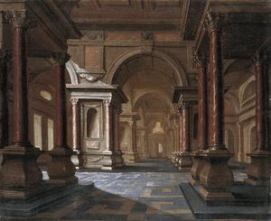 Interieur van een paleis
