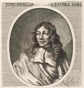 Portret van Johann Philip Lemke (1631-1711)