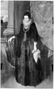 Portret van Cornelia van Oostrum tot Broeckhuysen ( -1600)
