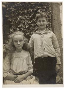 Portret van Johannes Henricus Cornelius Valckenier Kips (1906-1988) en Johanna Elisabeth Valckenier Kips (1905-1984)