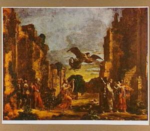 Saul ontmoet een aantal musicerende profeten te Gibea (1 Samuel 10:9-10)