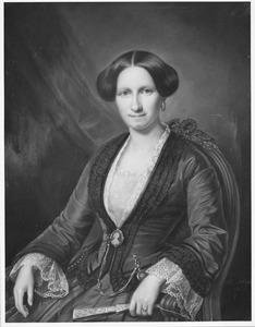 Portret van Albertine Sandberg (1824-1893)