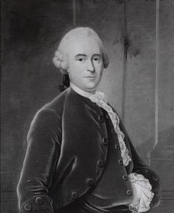 Portret van Quirijn van Strijen (1718-1790)