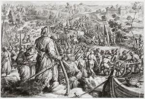 De dood van Giovanni delle Bande Nere in de slag bij Governolo