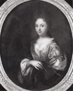 Portret van Clara Magdalena de Haze (1677-1710)