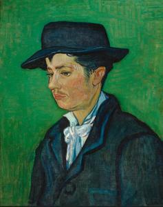 Portret van Armand Roulin