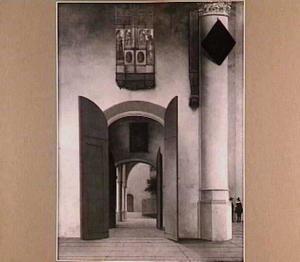 Interieur van de St. Laurenskerk te Alkmaar