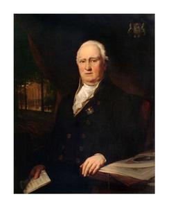 Portret van Appolonius Jan Cornelis Lampsins (1754-1834)