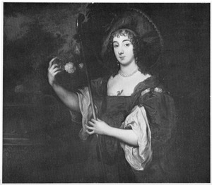Portret van Dorothy Sidney, Lady Spencer, later Countess of Sunderland (1617-1684) als herderin