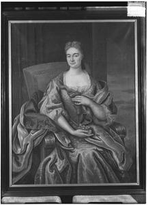 Portret van Gertrudis Henrica Elisabeth van der Heyden (1695-1765)