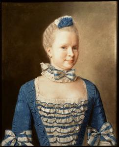 Portret van Dorothea Sophie van Heiden ( -1794)