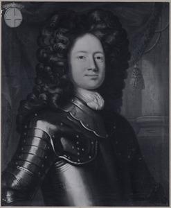 Portret van  Godart Philips van Lynden (1662-1735)