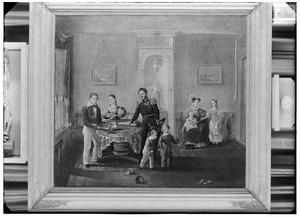 Portret van de familie Carel Frederik Gey van Pittius (1790-1860)