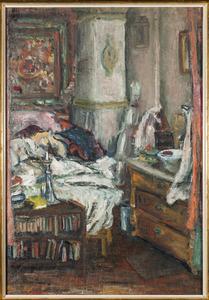 Slaapkamer van de kunstenares Amrey (Annemarie Balsiger)