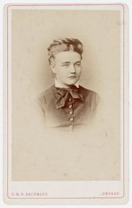 Portret van Petronella Johanna Christina van der Wyck (1848-1920)