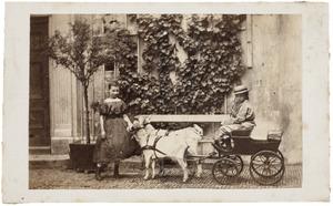 Portret van Louise Pauline van de Poll (1857-1943) en Frederik van de Poll (1860-1937)