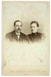 Portret van Jacob Mattheus de Kempenaer (1853-1900) en Henriette Josephine Catharina Rueb (1863-1948)
